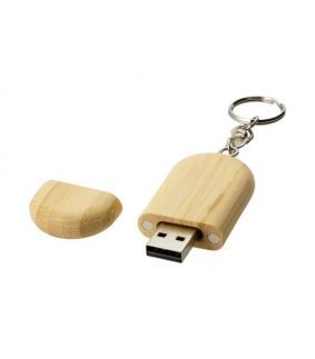USB stick din bambus, 4 GB