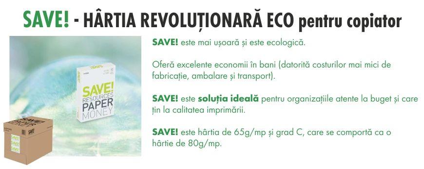 Hârtie revoluționară eco
