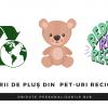 Jucării de pluș din PET-uri reciclate